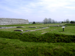 Richborough - Roman Fort on the Saxon Shore - Interior Structure
